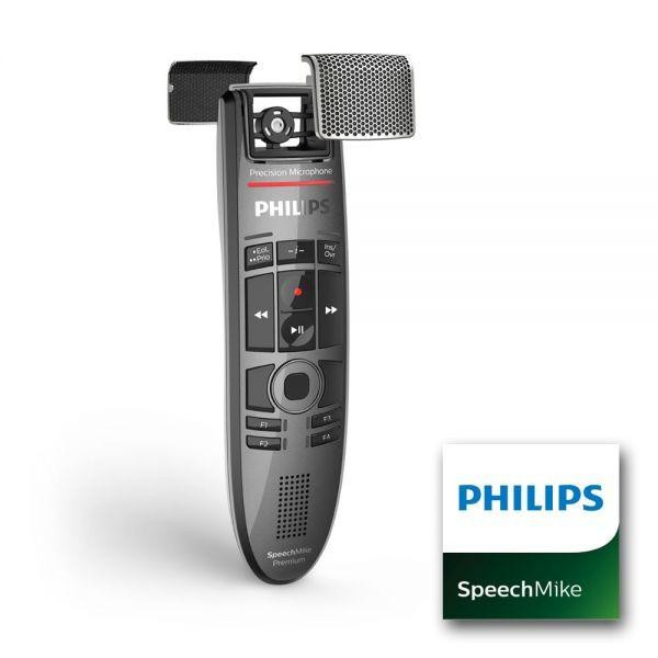 SpeechMike Premium Touch mit Barcodescanner