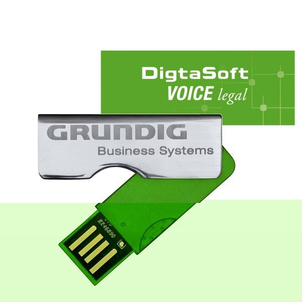 Grundig DigtaSoft Voice legal Installation Stick