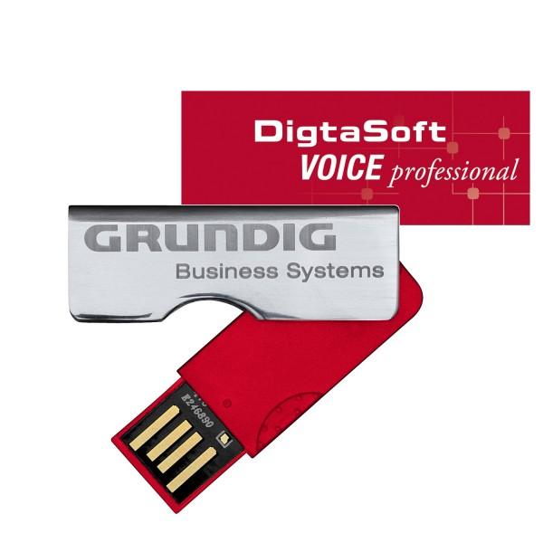 Grundig DigtaSoft Voice professional Installation Stick