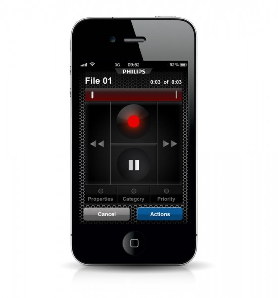 SpeechExec Dictation Hub iPhone