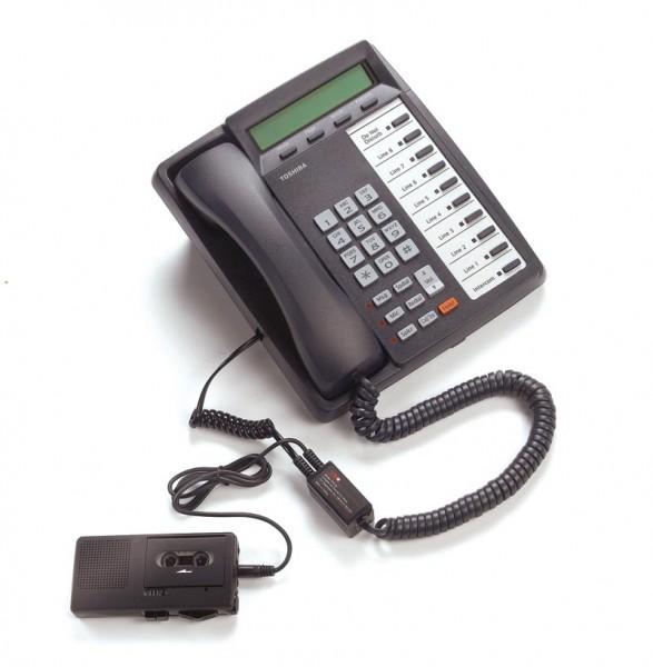 Dictaphone LRX35 - Telefonadapter für Geräte mit 3,5 mm