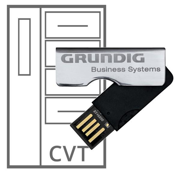Grundig CVT - Central Voice Transcriber - Installation Stick