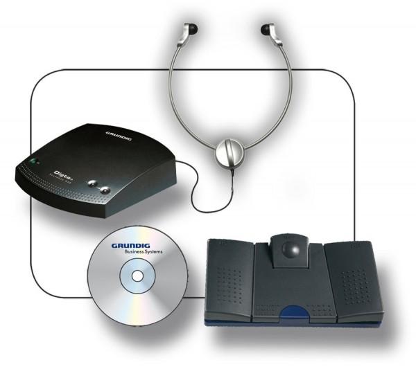 Grundig Digta Transcription Premium Kit 567 Pro