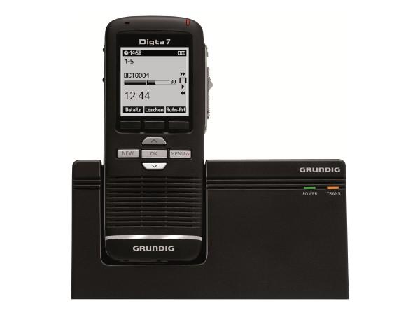digitale Diktiergeräte Hand Diktiergeräte Digta 7 Premium Set Type 703