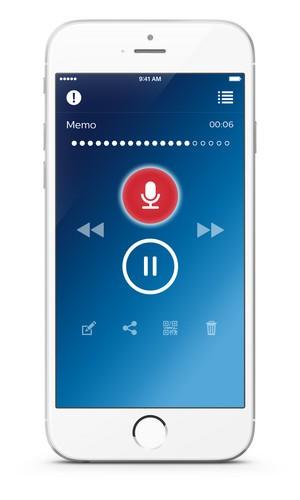 PVR Philips Voice Recorder App iPhone