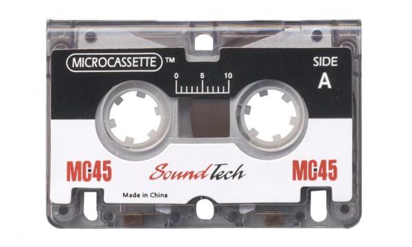 Neutral Mikrokassette MC 45