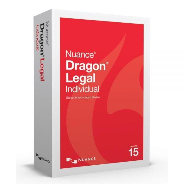 Nuance Spracherkennung Dragon Legal 15 Individual